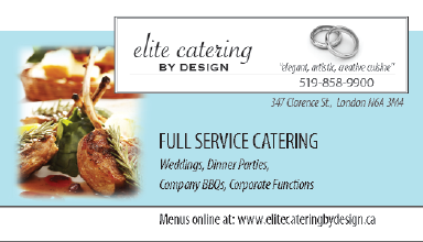 Elite Catering by Design